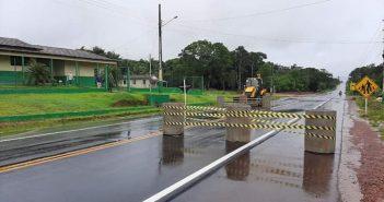 Instalação de barreiras sanitárias!