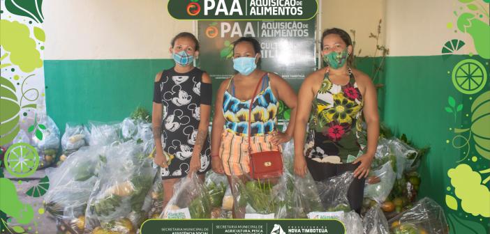 Mais de 200 famílias timboteuenses são atendidas pelo PAA